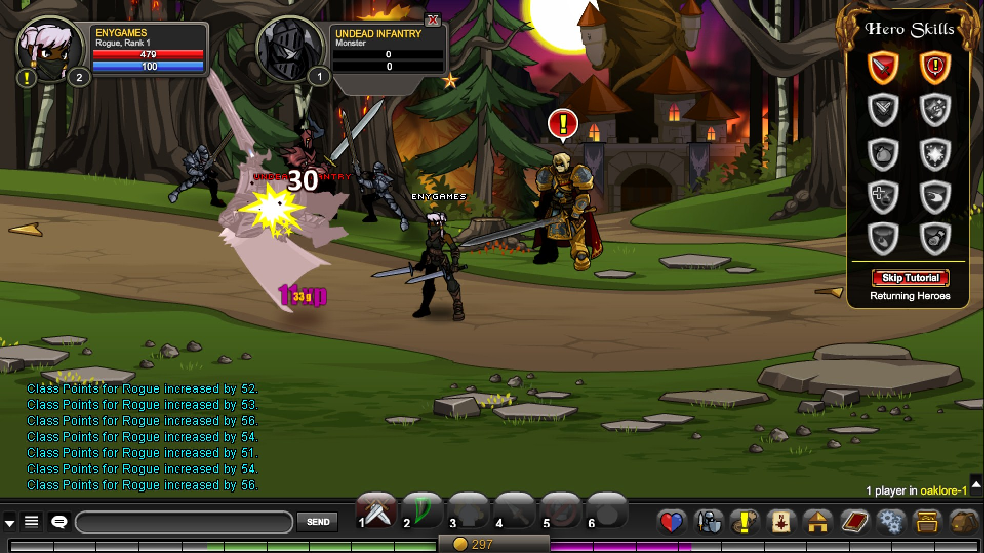 AdventureQuest Worlds - Games Like, Review, Gameplay, Classes, Similar Games