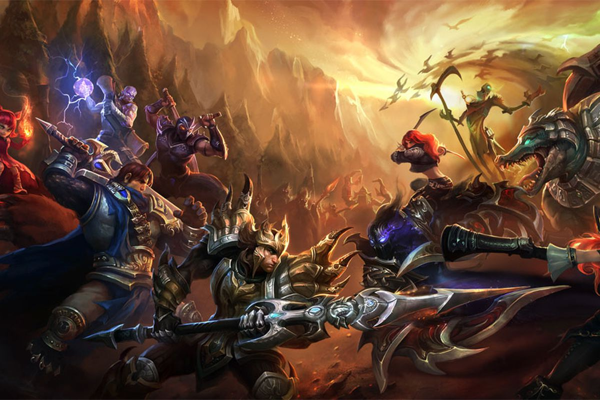 Art for First-Person MOBA Games List