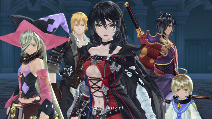 Art from Tales of Berseria for Japanese RPG Games List