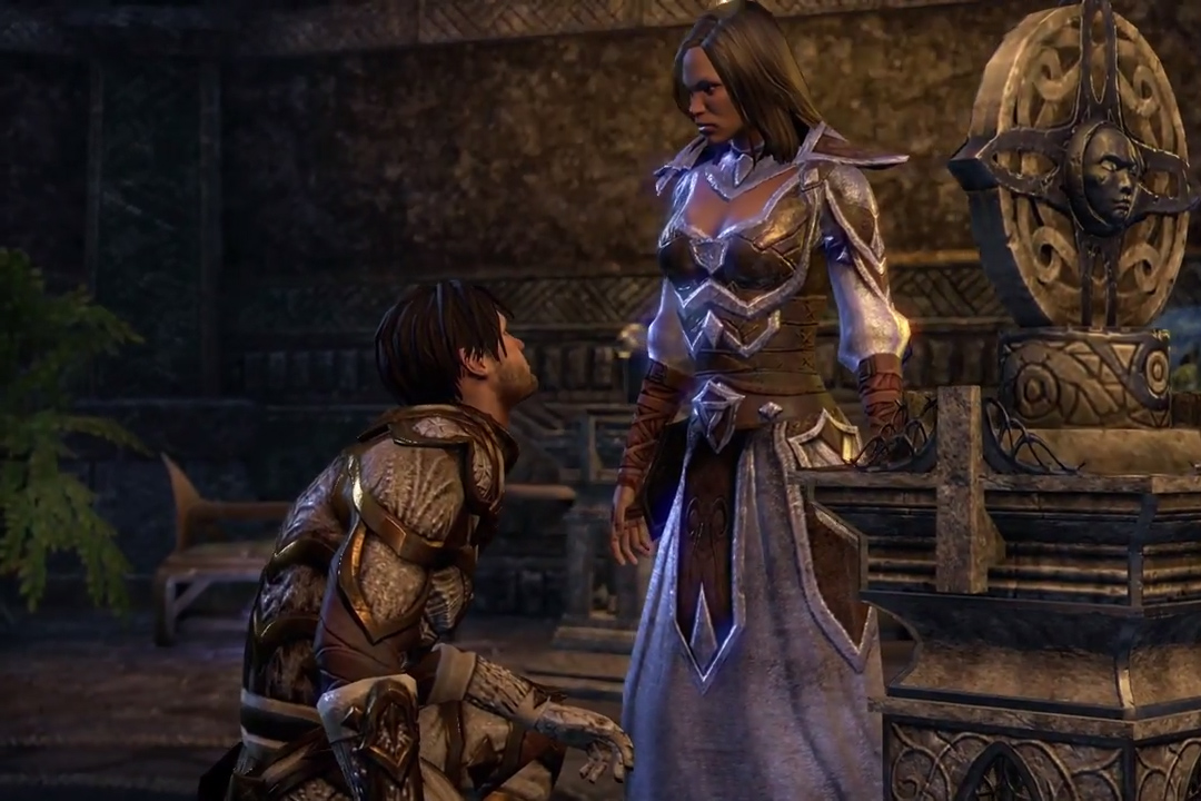 Screen from TESO for MMO Games For Couples List