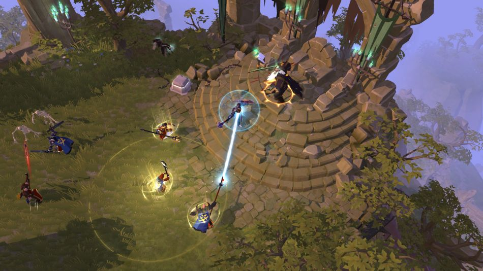 Art from Albion Online for MMO Games for Linux List