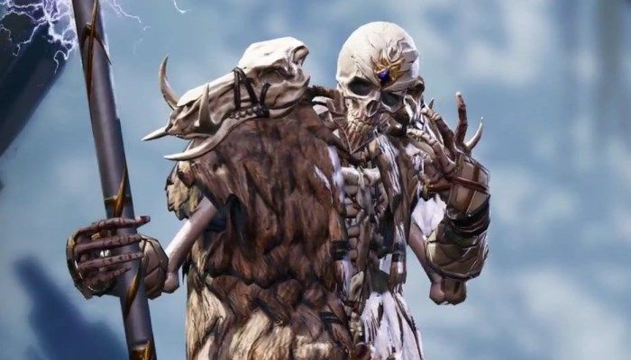 Lich from the MMORPG with Undead Races