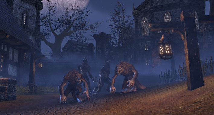 MMORPG with Vampires and Werewolves ingame screenshot for category