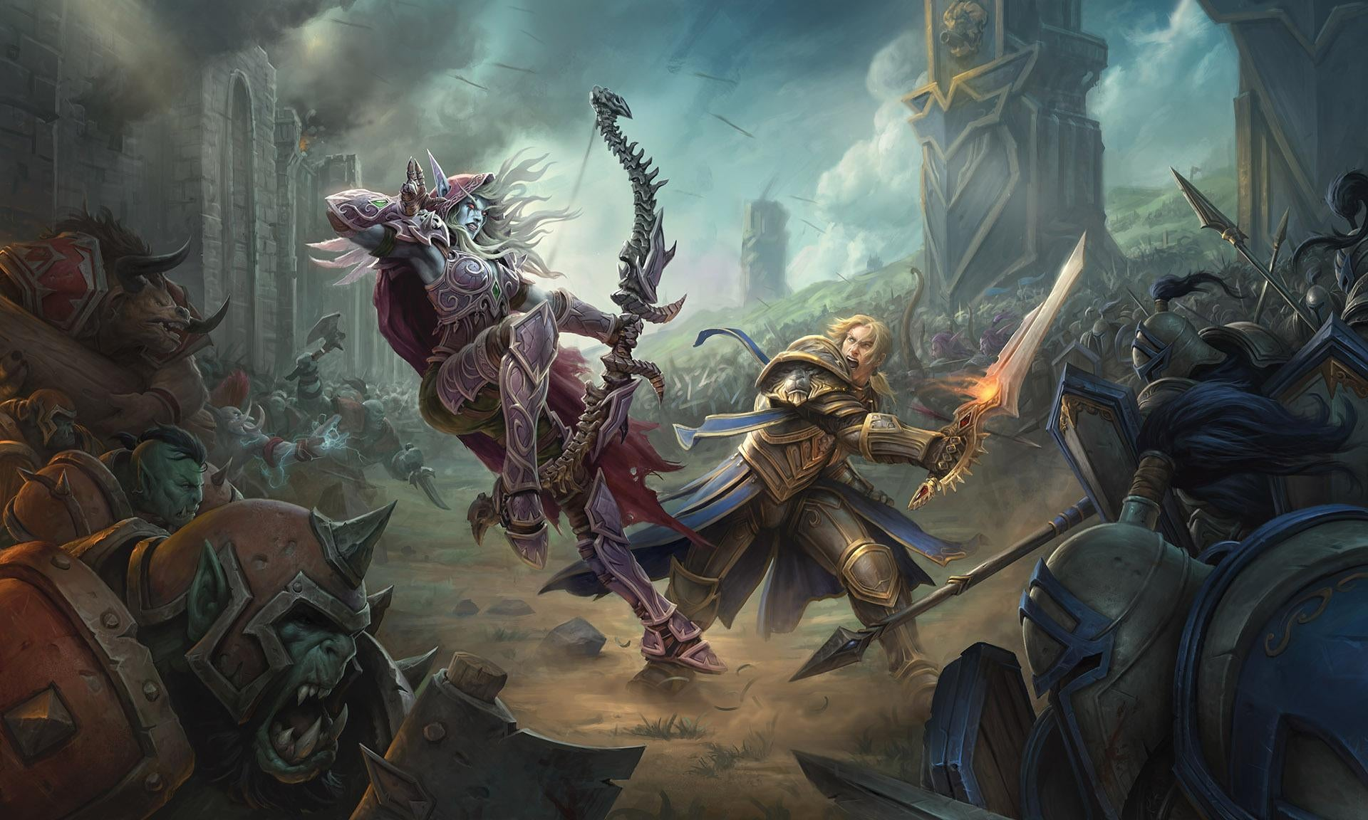 Art from WOW for Pay to Play MMORPG for PC List