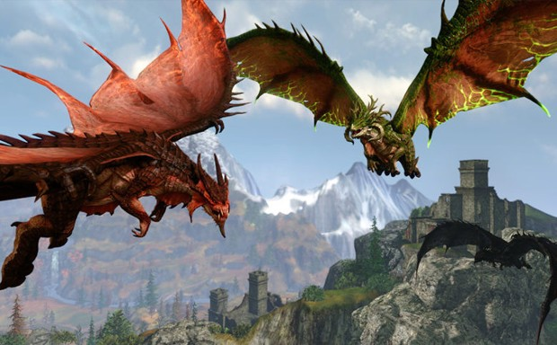 flying dragons screenshot from pay-to-win game