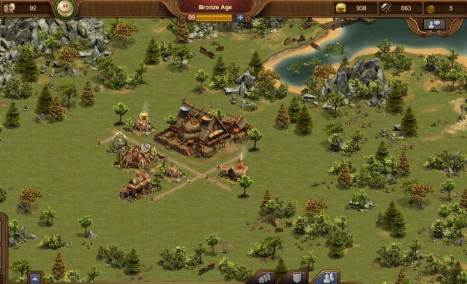 Screen from Settlers online - PvE Browser Game