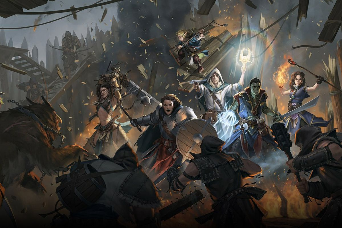 Art from Pathfinder for Russian RPG Games List