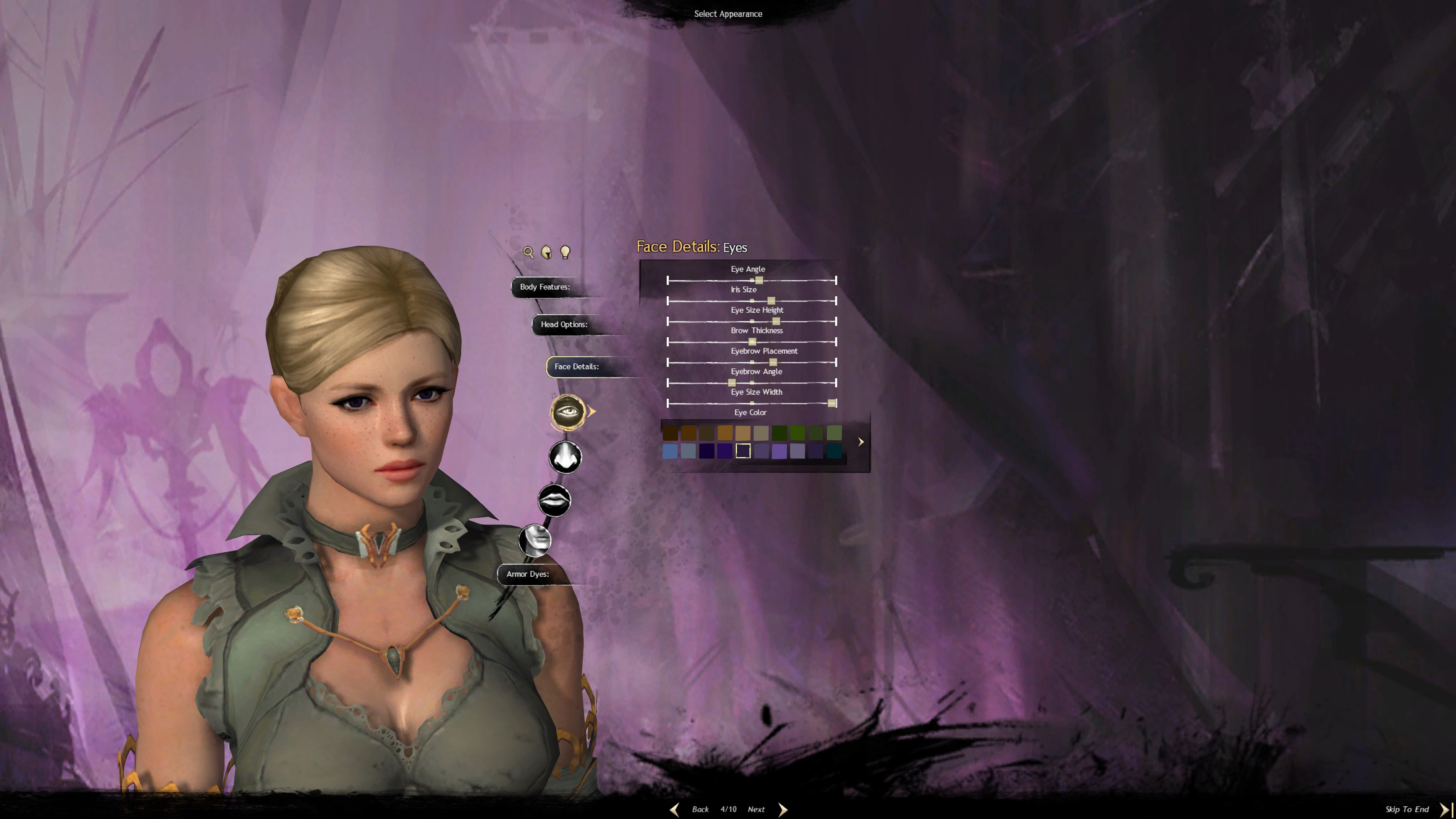 Character Customization in Guild Wars 2