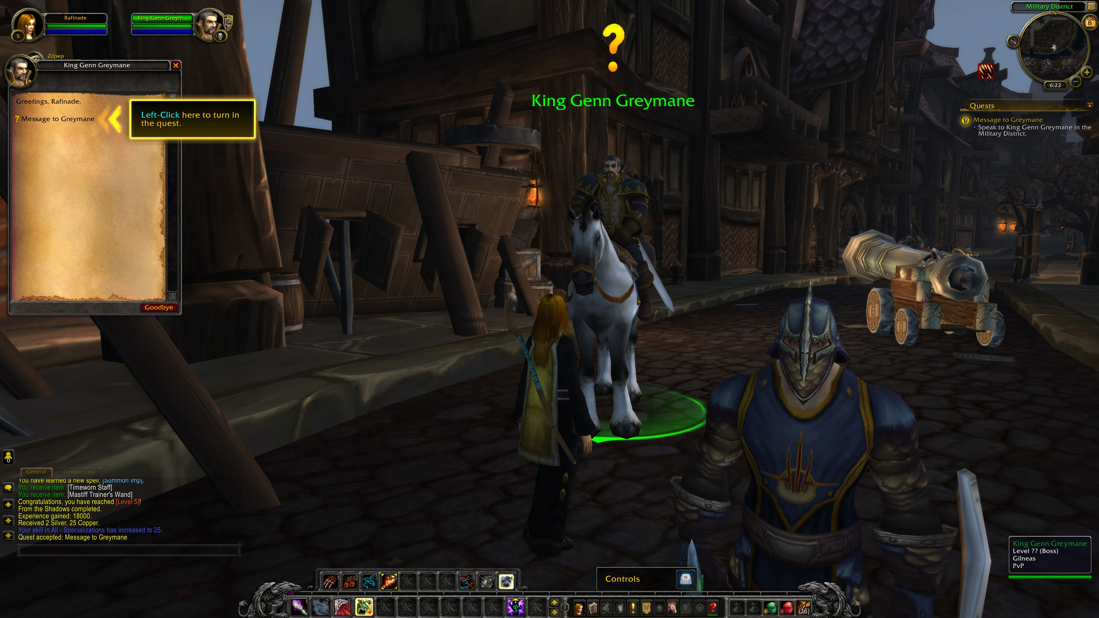 Quest system in World of Warcraft