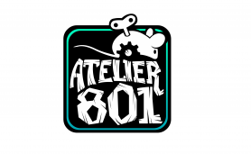 Atelier 801 French Game Development Studio Logo