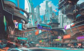 Art for Cyberpunk MMO Games Category