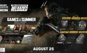Call of Duty Modern Warfare 5th season Reload Games of Summer Event