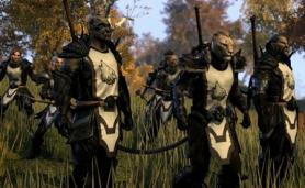 Art from TESO with prisoners for MMO Games to Play with Friends Category