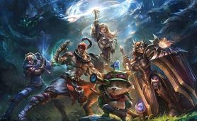 Art from Lol for MOBA Games From 2018 Category
