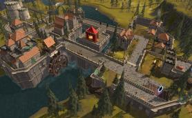 Cover with castle from Legends of Aria for Sandbox MMORPG Category