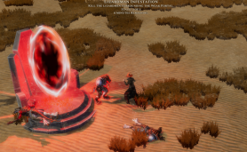 Legends of Aria MMORPG Shifting Sands Update Screenshot