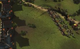 Stronghold Warlords FireFly Studios Siege Weapons Gameplay Screenshot