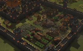 Stronghold Warlords Economic Gameplay Screenshot