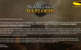 Stronghold Warlords Release Date March 9th 2021