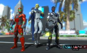 Valliance Online Superhero MMO Game Alpha Gameplay Screenshot