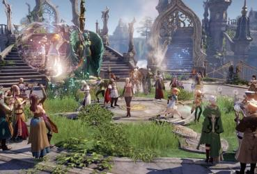 Screen from 25D MMO Games for PC Lost Ark