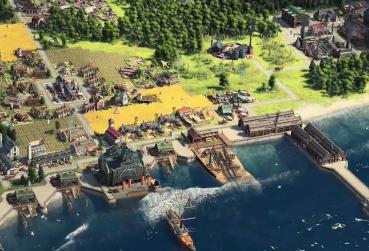 Screen from the Browser Game with building - Anno Online