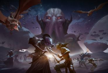 Game Art from D&D MMORPG for PC