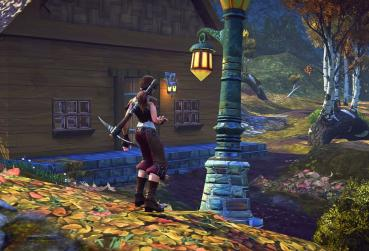 Screen From MMO Game with Craft in Fantasy Setting