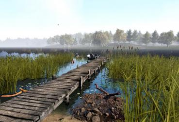 Screen for MMO Games with Fishing Category