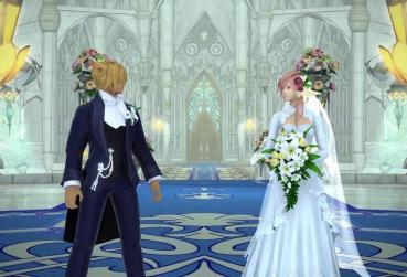 Art from FF for MMO Games with Marriage Category