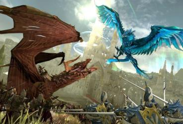 Art with dragons for MMORPG Games for Laptop Category