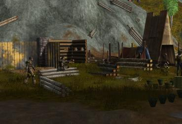 Image of the MMORPG with Building System for PC