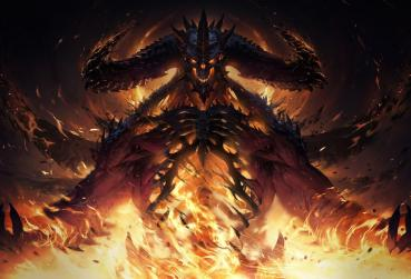 Art from Diablo for MMORPG with Demons and Angels Category