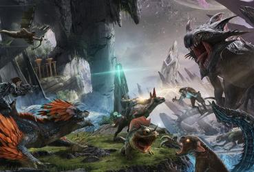 Art from ARK for MMORPG with Dinosaurs Category