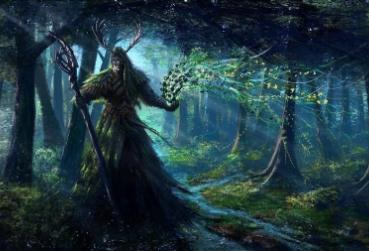 Art from MMORPG with Druid Class PC Game