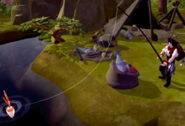 Screenshot from MMORPG with Fishing for PC