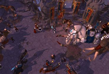 MMORPG with Full Loot Screen from Albion Online