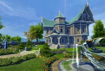 Fantasy House for Category MMORPG with Player Housing System