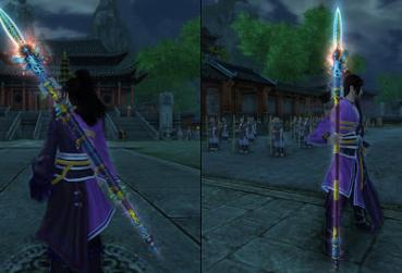 Screen for MMORPG with Spear Class List