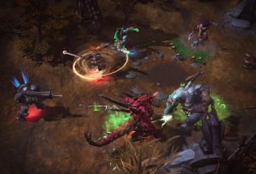 Screen from HOTS for MOBA Games From 2014 Category
