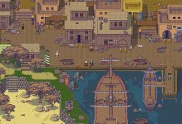 Screen from Pixel MMO Game for category