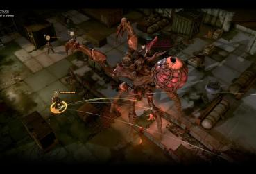 Screen from Phoenix point for Point and Click RPG Games Category