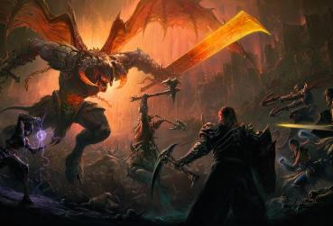 Art From Unique MMO Game Diablo