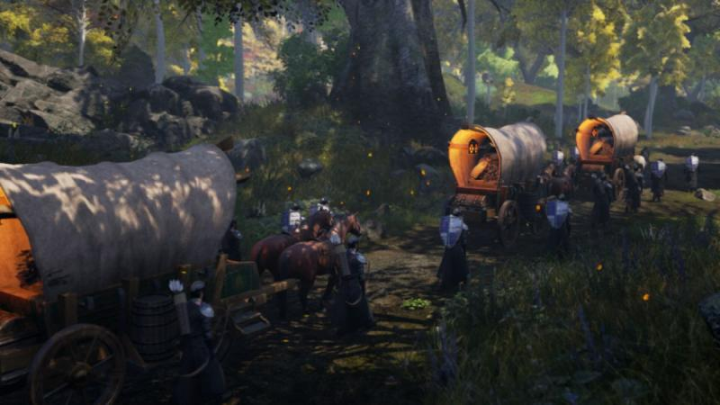 Ashes of Creation Cleric Gameplay Abilities Reveal