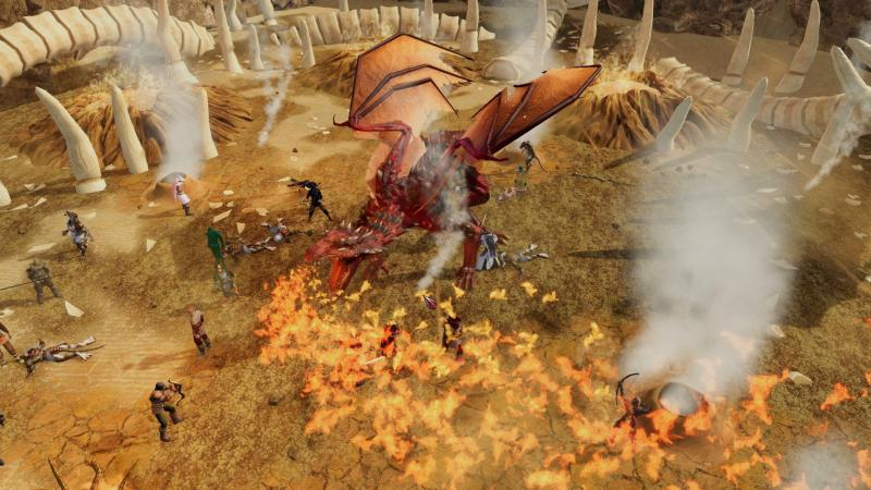 Legends of Aria MMORPG Early Access Release Screenshot