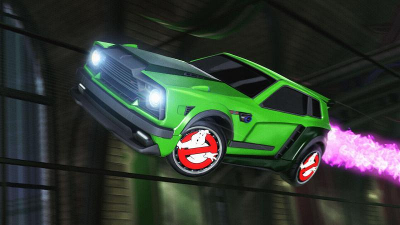 Rocket League Ghostbusters Events Halloween 2020